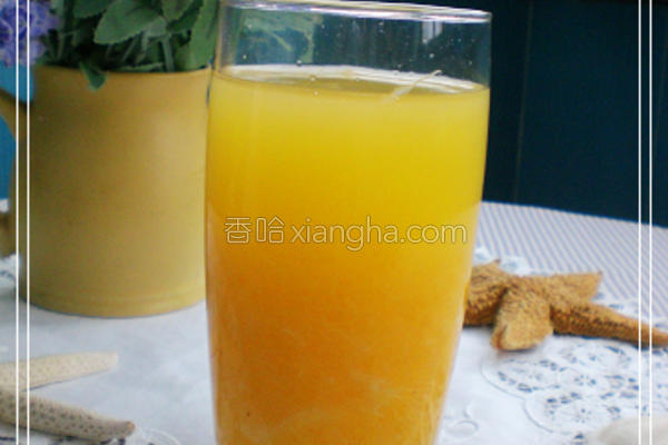 蜜糖果粒鲜桔汁