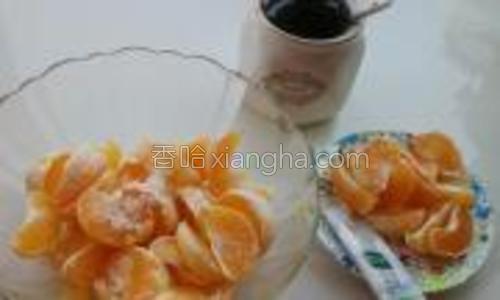 酸橘子四个;泉水(用普通的凉开水或者矿泉水都可以的哈)600ml;白糖六勺;蜂蜜一大勺。