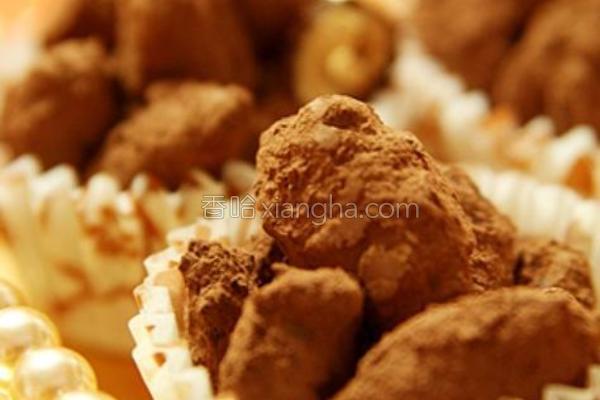 焦糖巧克力杏仁豆的做法