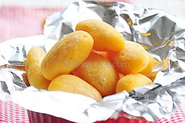 烤小红薯的做法