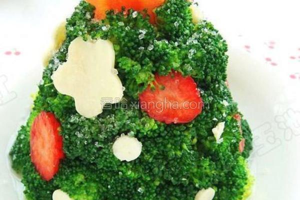 圣诞果蔬沙拉的做法