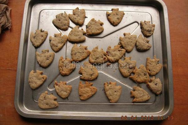 红豆馅饼干的做法