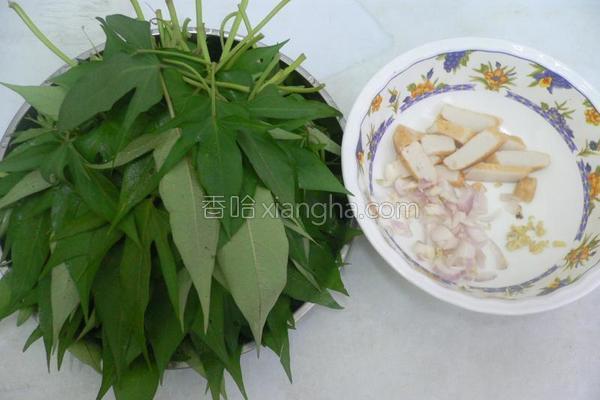 炒台湾番薯苗的做法