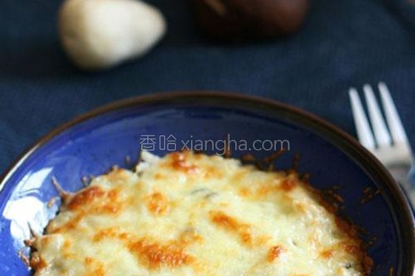 奶香蘑菇饭的做法