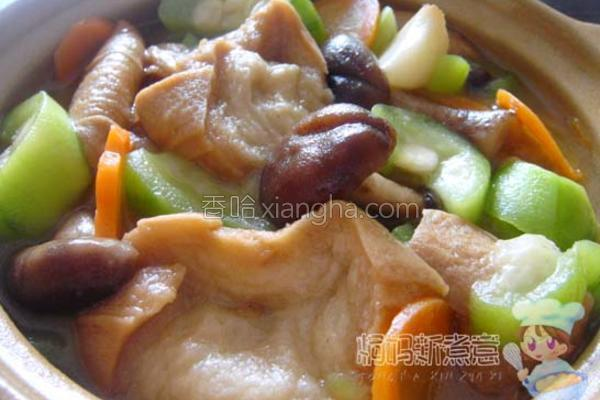 日式油麸煲的做法