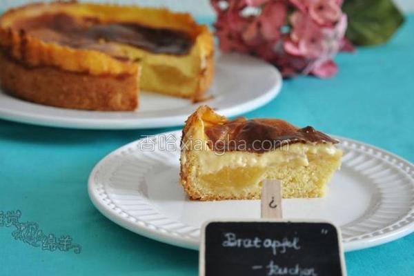 烤苹果布丁蛋糕的做法
