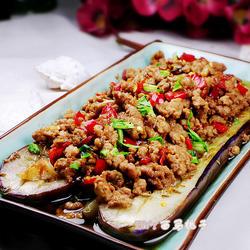 泡椒肉末烤茄子的做法[图]