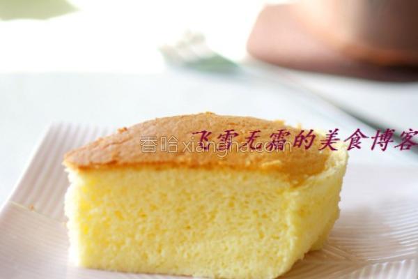 低乳酪蛋糕的做法