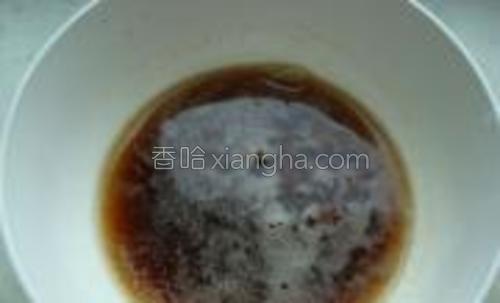 用大蒜泥,白糖米醋盐鸡精调成汁