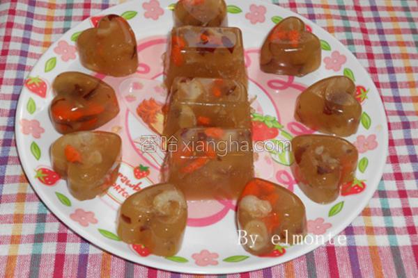 红枣桂圆茶冻的做法