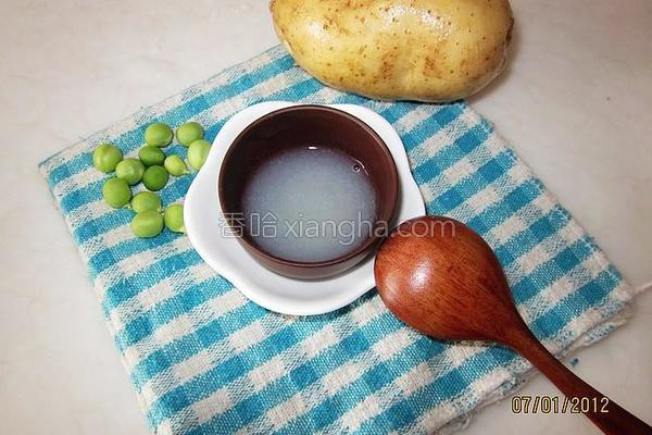 土豆米糊的做法