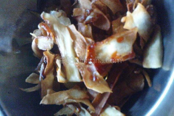 炸甜木薯成品图