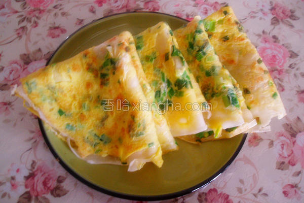 韭菜鸡蛋饼的做法