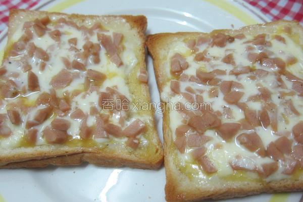 腊肠三明治的做法
