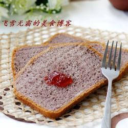 紫米面包的做法[图]