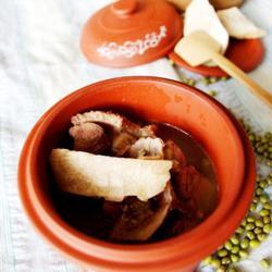 土茯苓绿豆老鸭汤的做法[图]