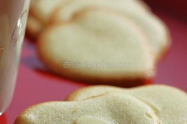 蛋白杏仁饼干的做法