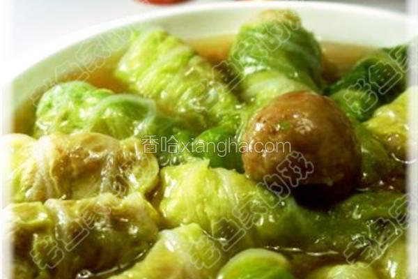 绿碧青菜卷