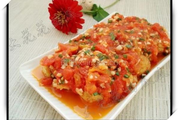 茄汁虎皮蛋的做法
