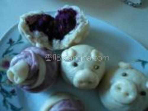 紫薯包香甜可口。