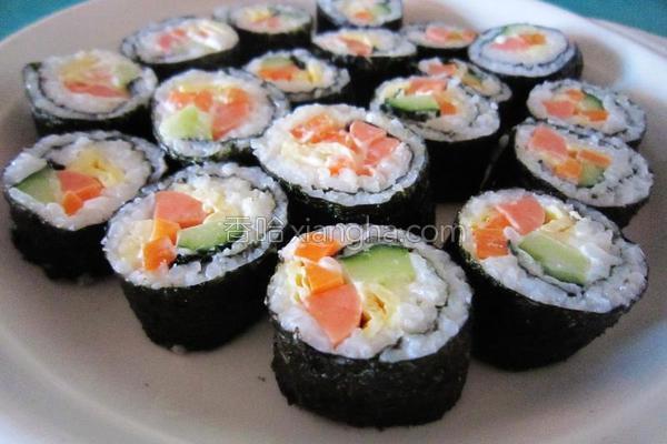简易版寿司的做法