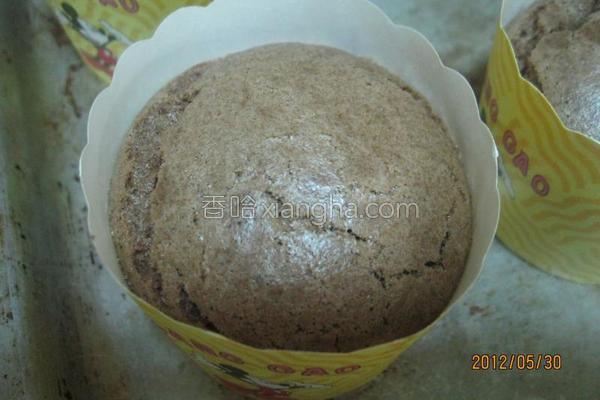 巧克力杯装蛋糕的做法