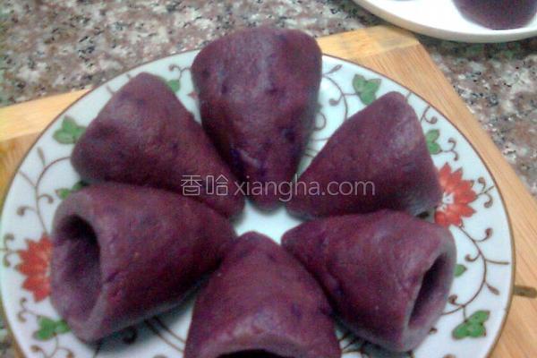 紫薯杂粮窝头的做法