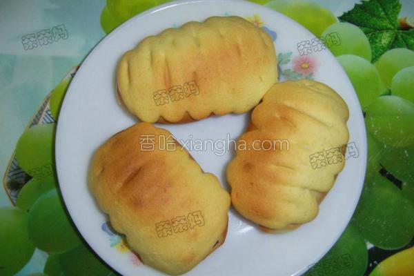 墨西哥蜜豆包的做法
