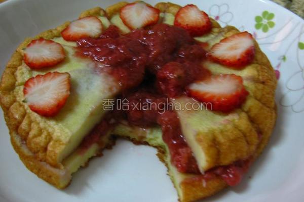 草莓蛋糕的做法