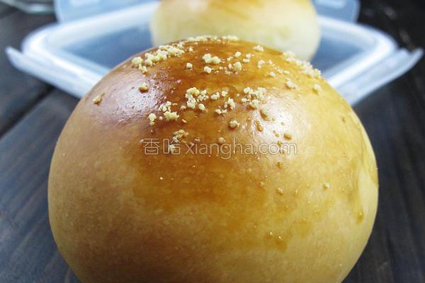 鲜奶QQ小面包的做法
