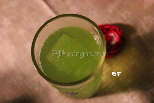 绿檬汁的做法