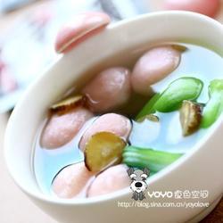 白芷油菜魚丸湯的做法[圖]