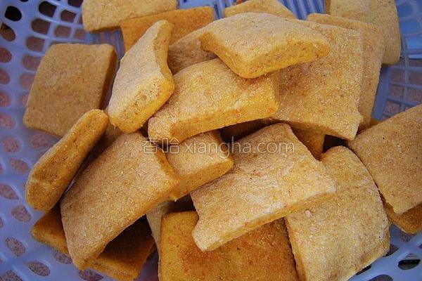 玉米面苏打饼干的做法