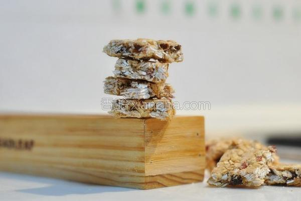 燕麦小方酥的做法