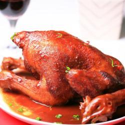 豆瓣酱烧鸡的做法[图]
