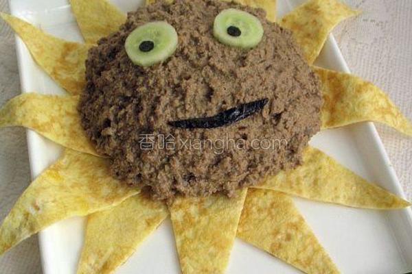 太阳花米饭的做法