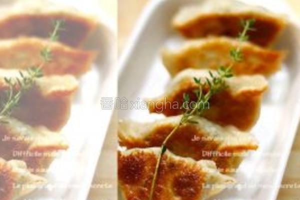 榨菜鱼肉小煎饺