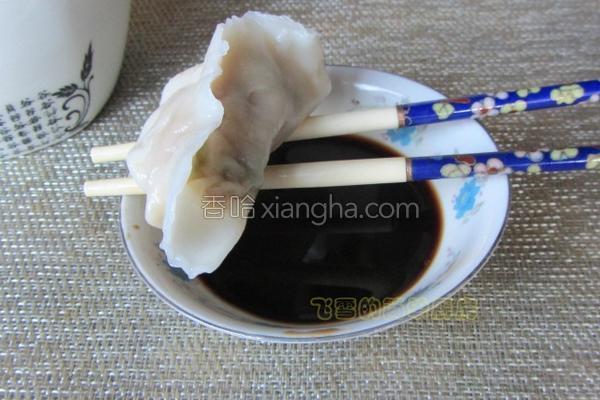 春笋芹菜鲜肉饺的做法