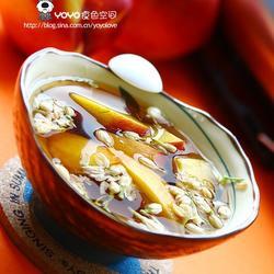 桃子红糖茉莉花甜汤水的做法[图]