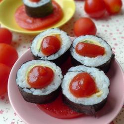 番茄酱寿司的做法[图]