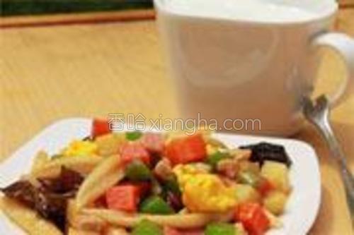 成品,配杯牛奶,即可以当点心吃又能当主食吃。