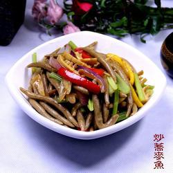 炒荞麦鱼的做法[图]