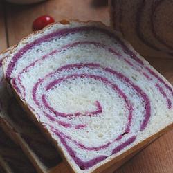 紫薯圈圈吐司的做法[图]
