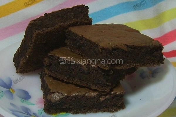 杏仁巧克力蛋糕的做法