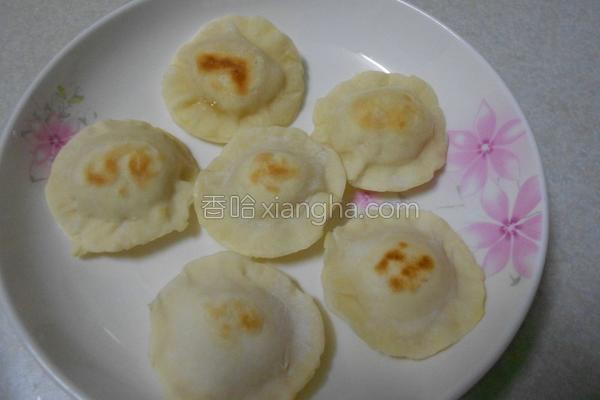 荷叶地瓜饼的做法