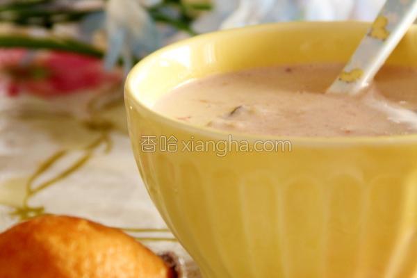 营养牛奶粥的做法