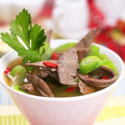 绿豆丝瓜护肝汤的做法[图]
