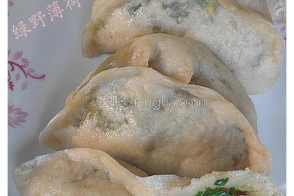 虾仁韭菜蒸饺的做法