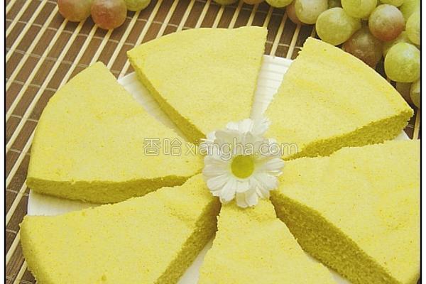 鸡蛋玉米蒸糕的做法