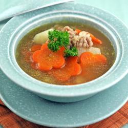 山藥胡蘿卜牛肉湯的做法[圖]